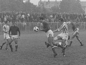Yugoslav Second League - NK Železničar Maribor vs HNK Šibenik in 1969
