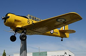 Gate guardian - Image: Noorduyn AT 16 Harvard II, Canada Air Force AN0931637
