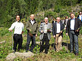 Nordic Council ministers planting forest in Åsen, Levanger (2).jpg