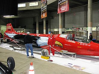 North American Eagle Project - The land speed record attempt car