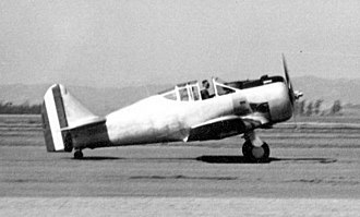 "José Quiñones Gonzales - NA-50 ""Torito"", similar to that flown by Lieutenant Quiñones on July 23, 1941."