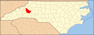 National Register of Historic Places listings in Burke County, North Carolina Wikimedia list article
