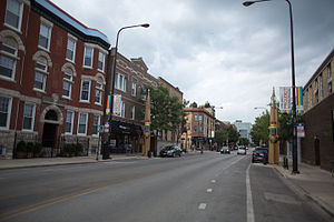 Halsted Street - North Halsted, Chicago in 2015