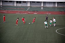 North Korea-Pyongyang-Kim Il-Sung Stadium-Football game with Turkmenistan-02.jpg