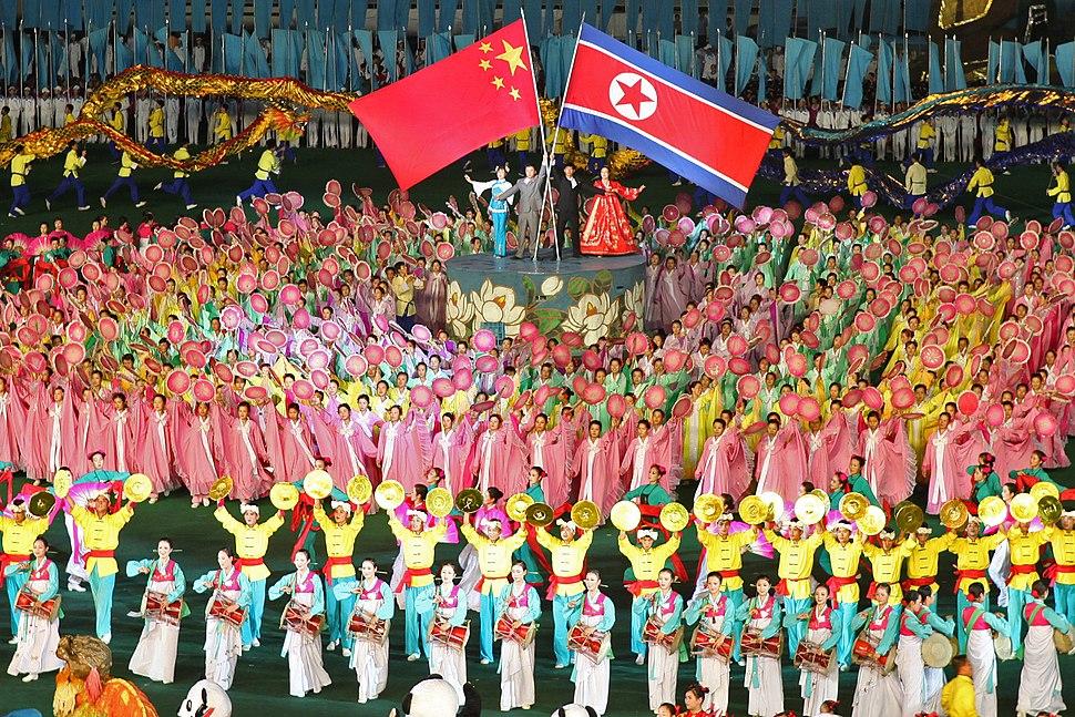 North Korea - China friendship (5578914865)