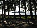 Northern Dvina embankment, Navy boat.JPG