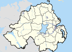 Northern Ireland map - July 2007