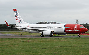 Norwegian Air Shuttle Boeing 737-8Q8 LN-NOL at...