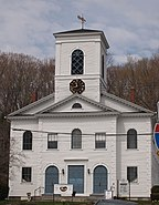 Norwichtown Historic District, First Congregational Church