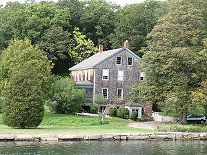 Alpheus Hyatt - The Norwood-Hyatt House, where Hyatt set up his marine biology laboratory