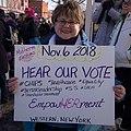 Nov 6, 2018 Hear our vote -WomensMarch -WomensMarch2018 -SenecaFalls -NY (39776017412).jpg