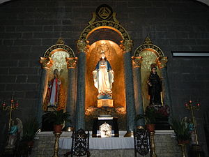 Nuestra Señora de Gracia Church - Image of the church's titular, enshrined in the main altar.
