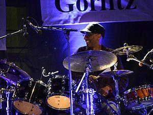 Omar Hakim - Omar Hakim performing at Jazztage Görlitz 2012