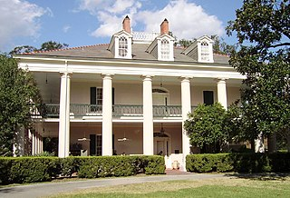 Oak Alley Plantation human settlement in St. James Parish, Louisiana, United States of America