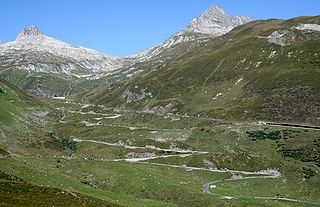 Oberalp Pass mountain pass