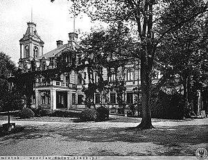 Stradomia Wierzchnia - Ober Stradam Manor around 1904