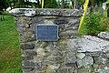 Old Burial Ground marker - Sturbridge, Massachusetts - DSC06008.jpg