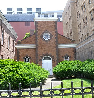 Old First Presbyterian Church (Newark, New Jersey) - Image: Old First Presby 820 Broad Newark jeh