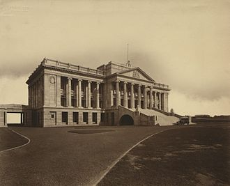 Sirimavo Bandaranaike - The Old Parliament Building in Colombo, where the House of Representatives met beginning in 1947