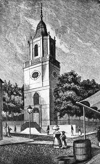Elizabeth Ann Seton - St. Peter's, Barclay Street, 1785