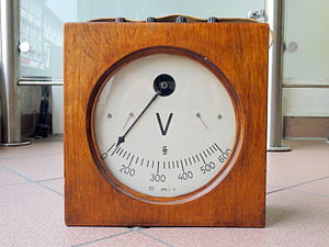 Fermi level - A voltmeter measures differences in Fermi level divided by electron charge.