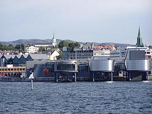 Norwegian Petroleum Museum - Image: Oljemuseum from the sea