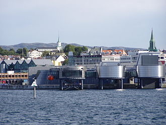 Norwegian Petroleum Museum - Image: Oljemuseum from the sea