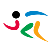 Olympic pictogram Athletics colored flipped.png
