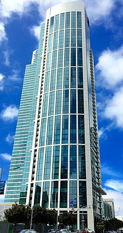 One Rincon Hill North Tower, San Francisco, East View, 2015.jpg