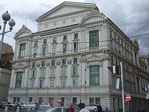Opéra de Nice - Southern façade of the opera