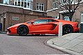 Orange Lamborghini Aventador (6862041418).jpg