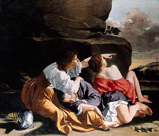 Orazio Gentileschi - Lot and His Daughters - WGA8588