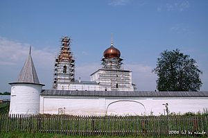 Kalininsky District, Tver Oblast - The Orsha Ascension Monastery.