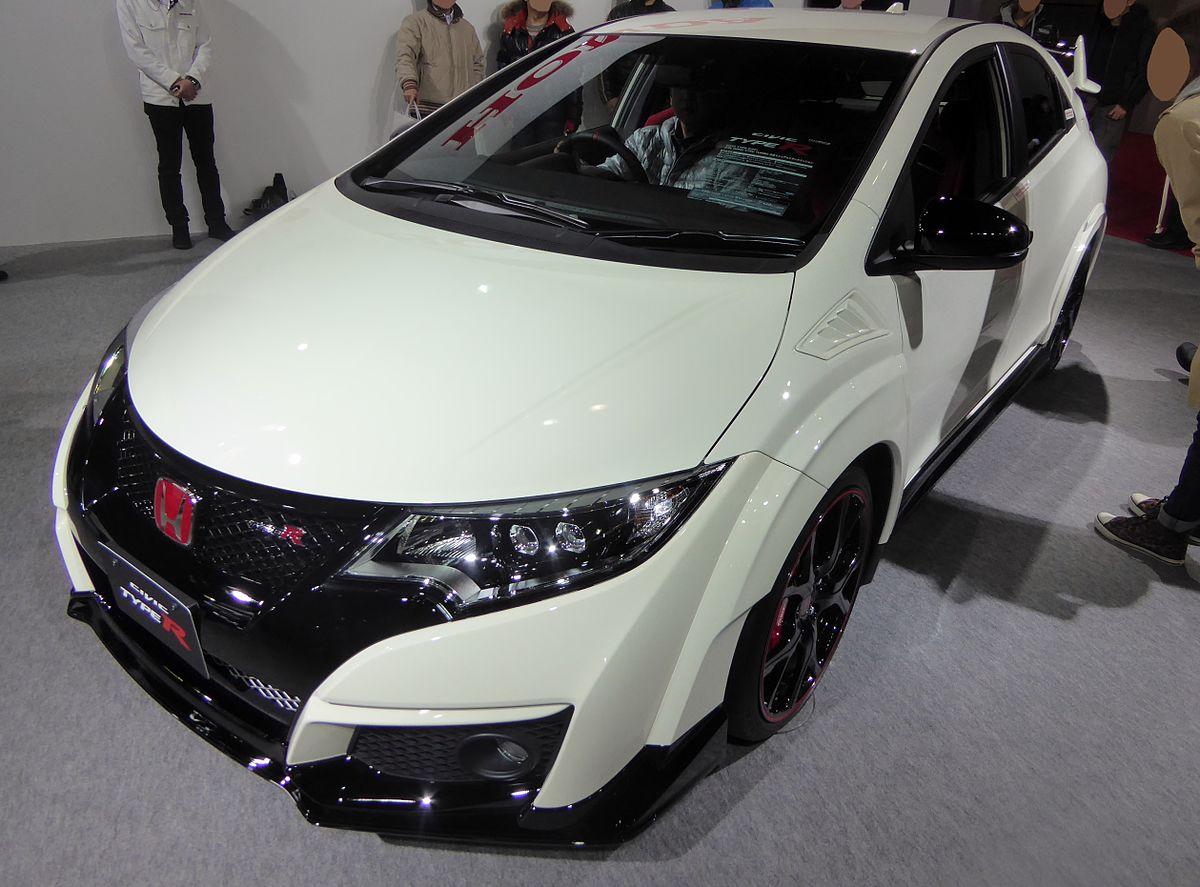 Osaka Motor Show 2015 (195) - Honda CIVIC TYPE R (DBA-FK2).JPG