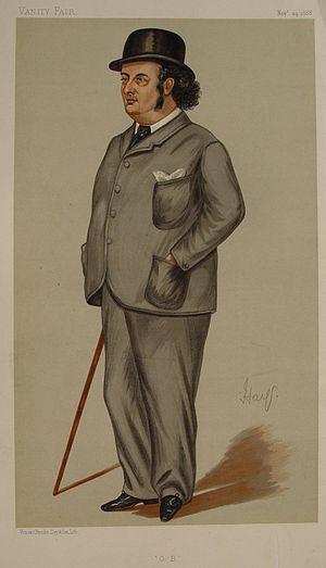 "Oscar Browning - ""OB"" as caricatured in Vanity Fair, November 1888"
