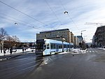 Oslo tram line 18 Dronning Eufemias gate 01.jpg