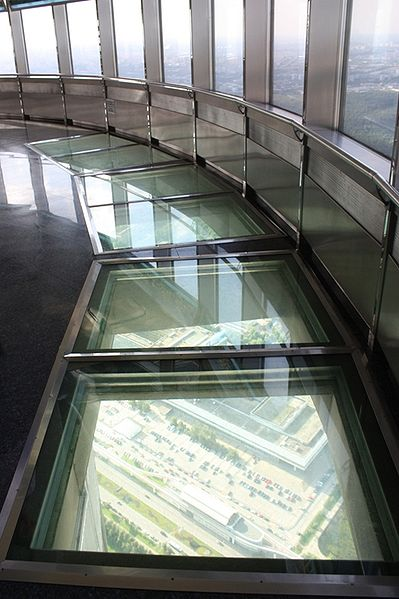 Glass floor image