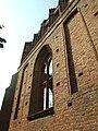 Ostaszewo, ruiny kostela, okno.JPG
