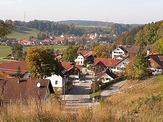 Osterzell - Osterzell seen from the southeast