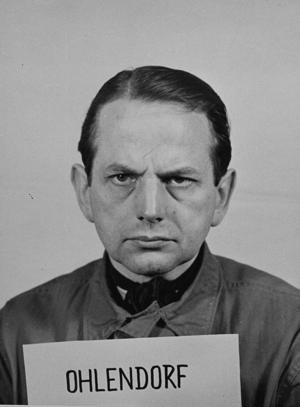 Otto Ohlendorf - Ohlendorf at the Nuremberg Trials