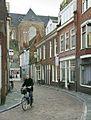 Overzicht straat, onderdeel van het beschermd stadsgezicht, richting de Der Aa kerk - Groningen - 20413509 - RCE.jpg