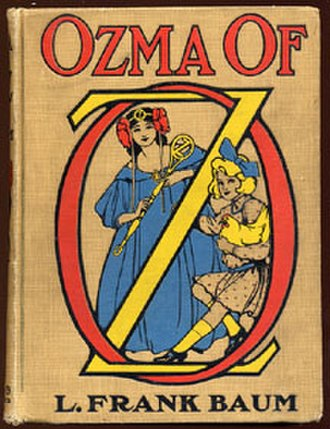 Ozma of Oz - First edition cover