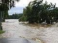Písek flood 2002 Stone Bridge.jpg