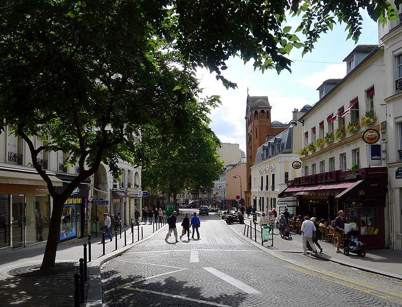 Fichier:P1040856 Paris XVIII rue des Abbesses rwk.jpg