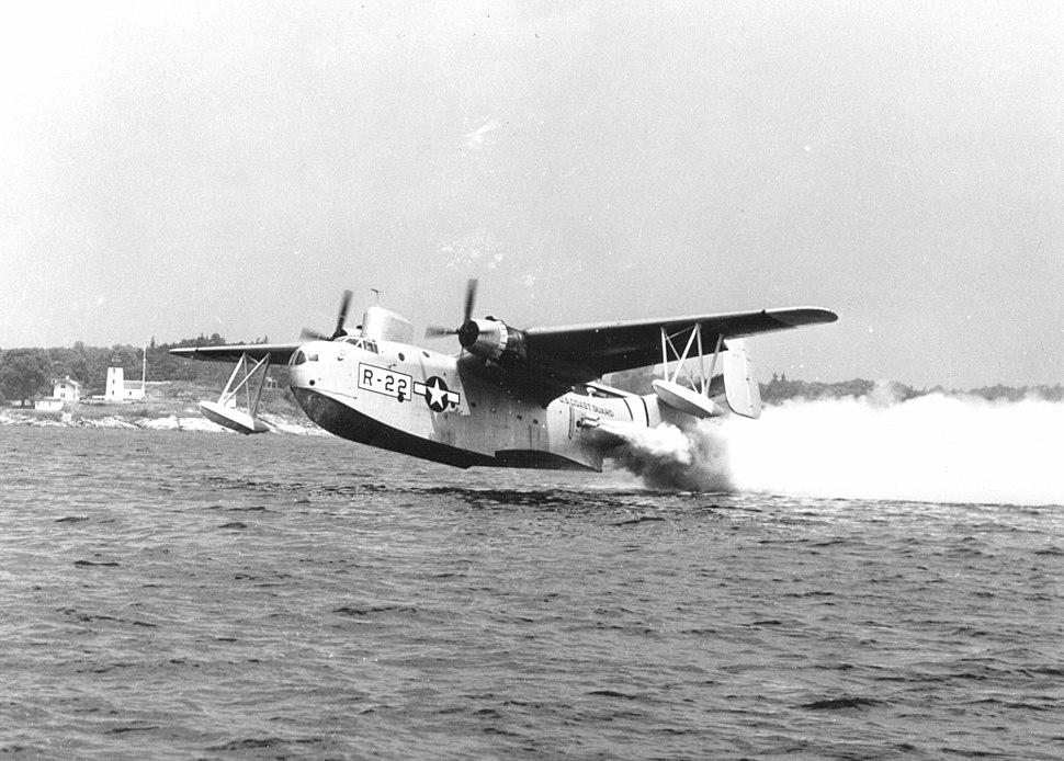 PBM Mariner water takeoff
