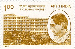 PC Mahalanobis 1993 stamp of India.jpg
