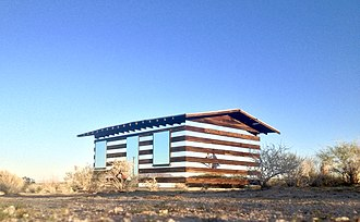 Phillip K. Smith III - Smith's Lucid Stead in Joshua Tree, California 2013