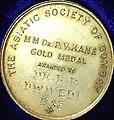 PV Kane Gold Medal awarded to Acharya Dwivedi 1983.jpg