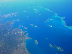 New Caledonian barrier reef - Image: Païta 01