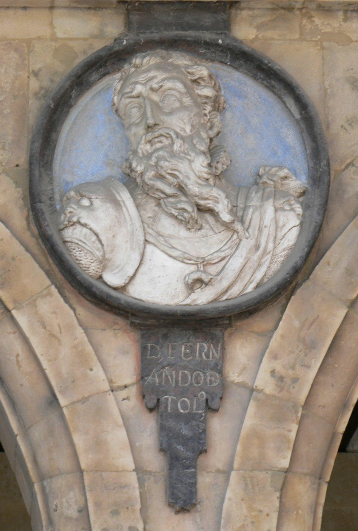 Pabellón San-Martín medallón 14 Fernando Alvarez de Toledo.JPG
